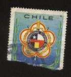 Stamps : America : Chile :  Escudo de Armas