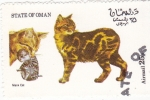 Stamps Oman -  gatos de raza-