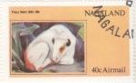 Sellos de Asia - Nagaland -  obra de Franz Marc