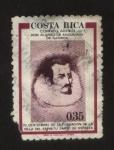 Stamps : America : Costa_Rica :  Don Alonso de Gamboa