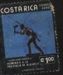 Stamps : America : Costa_Rica :  Homenaje a la Provincia de Alajuela