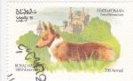 Stamps Oman -  Royal Wedding- Collie y castillo de Balmoral