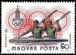 Stamps Hungary -  Summer Olympic Games, 1980 Moscow (2)