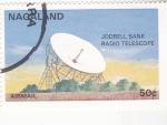 Stamps : Asia : Nagaland :  AERONAUTICA- RADIO TELESCOPIO