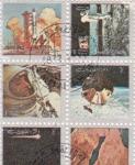 Stamps United Arab Emirates -  HISTORIA DE LA AERONAUTICA