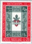 Stamps Vatican City -  Consejo Vaticano Oekomeinsch