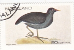 Stamps : Asia : Nagaland :  AVE- gallinula