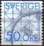 Sellos de Europa - Suecia -  SUECIA Sweden Sverige 1983 Scott 1434 Sello Juegos Tablero