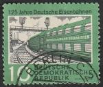 Stamps Germany -  519 - 125 anivº de los ferrocarriles alemanes
