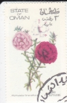 Stamps Oman -  FLORES-