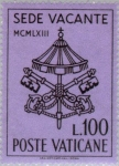 Sellos de Europa - Vaticano -  Papa Johannes XXIII- Fallecimiento