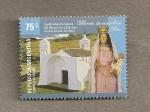 Stamps Argentina -  Capilla Nuestra Señora Rosario, Córdoba