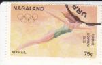 Sellos del Mundo : Asia : Nagaland : JUEGOS OLIMPICOS MUNICH-72