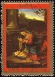 Stamps United Arab Emirates -  COL-VIRGEN Y NIÑO JESÚS