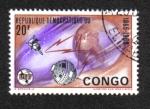 Stamps Democratic Republic of the Congo -  U.I.T. (Unión Internacional de Telecomunicaciones), Centenario