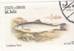 Stamps : Asia : Oman :  PECES- trucha