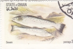 Stamps : Asia : Oman :  PECES