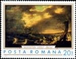Sellos de Europa - Rumania -  Pinturas Marinas