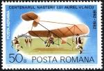 Sellos de Europa - Rumania -  Centenario del nacimiento de Aurel Vlaicu