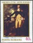 Stamps Romania -  Bicentenario de la Revolución Americana