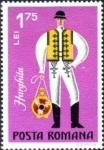 Stamps Romania -  Trajes de folclore 1973