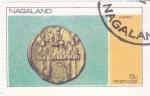 Stamps : Asia : Nagaland :  MONEDA- claudius