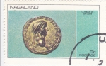 Stamps : Asia : Nagaland :  MONEDA- Claudius de Britainn