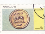 Stamps : Asia : Nagaland :  MONEDA- Romulo y Remo