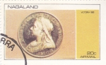 Stamps : Asia : Nagaland :  MONEDA- Victoria