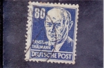 Stamps : Europe : Germany :  Ernst Thalmann