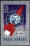 Stamps Romania -  Space