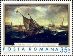 Stamps Romania -  Pinturas Marinas