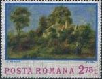Sellos del Mundo : Europa : Rumania :  Pinturas Impresionistas