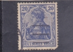 Stamps Germany -  militar