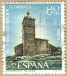 Stamps Spain -  Fundacion de Guernica - Iglesia de Luno