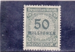 Stamps : Europe : Germany :  cifra