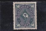 Stamps : Europe : Germany :  corneta de correos