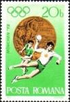 Sellos del Mundo : Europa : Rumania : Juegos Olímpicos de Verano 1972, Munich - Medallas