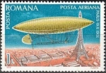 Stamps : Europe : Romania :   Airships