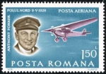 Sellos del Mundo : Europa : Rumania :  Pioneers of Aviation. Anthony Fokker, Fokker F VII 3m (1926)