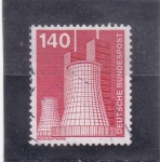 Stamps : Europe : Germany :  central nuclear
