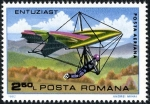 Stamps : Europe : Romania :  Gliding