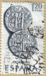 Stamps Spain -  Ceca de Lima - Forjadores de America