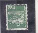 Stamps : Europe : Germany :  aereopuerto