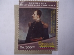 Stamps of the world : Venezuela :  Bicentenario 1817-2017 - Ezequiel Zamora.