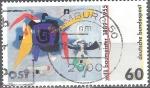 Stamps : Europe : Germany :  Nacimiento Centenario de Willi Baumeister (pintor). Bluxao I.