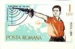 Stamps : Europe : Romania :  Campeonato de Europa de Tiro, Bucarest