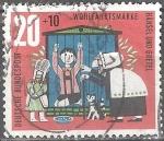 """Stamps : Europe : Germany :  """"Por el bienestar"""" Los cuentos de los hermanos Grimm (Hansel y Gretel)."""