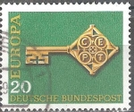 Stamps : Europe : Germany :  Europa-CEPT.