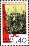 Sellos de Europa - Rumania -  Centenario de la Comuna de París